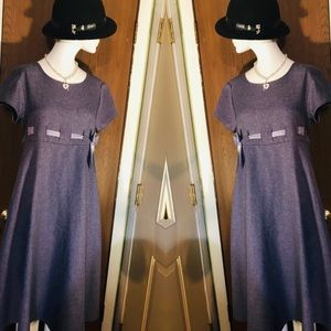 Vintage Empire Silhouette, fitted Bodice
